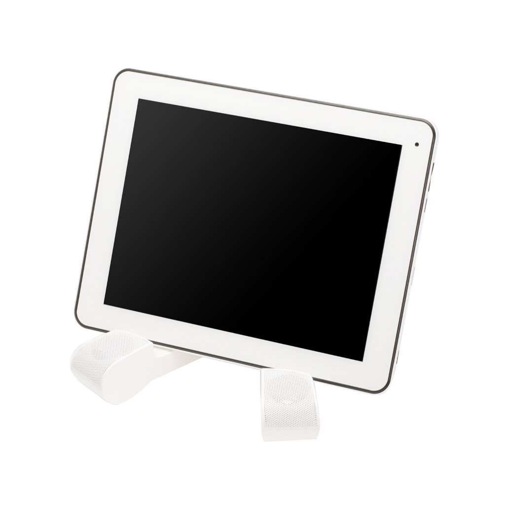trepied pour tablette tactile avec enceintes int gr es ebay. Black Bedroom Furniture Sets. Home Design Ideas